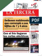 Diario La Tercera 27.04.2016