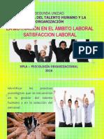 PSICOLOGIA ORGANIZACIONAL SATISFACCION LABORAL