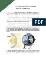 Conceptos Básicos Sobre La Técnica de Iluminación Escénica