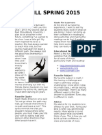 desktop publishing project