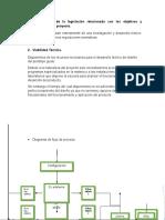 Identificación de La Legislación Relacionada Con Los Objetivos y Contenidos Del Proyecto