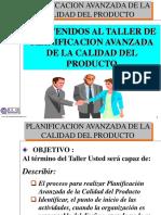 Taller Apqp