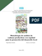 Metodologia de Analisis de Cadenas Productivas Con Equidad Para La Promocion de Desarrollo Local