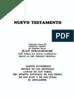 Nuevo-Testamento Versión Straubinger