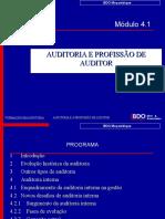Auditoria e a Profissão de Auditor