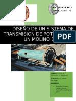 Trabajo de Transmision de Potencia Por Engranajes Cilindricos Rectos (1)
