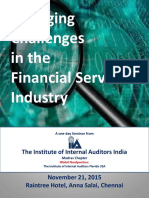Emerging Challenges in the Financial Service Industry