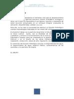 Estudio Hidrologico - Quillo