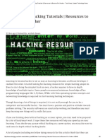 80+ Best Free Hacking Tutorials _ Resources to Become Pro Hacker - Tech News _ Latest Technology News