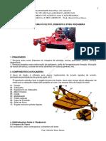 Apostila do Curso de Operação de Roçadeira Mecânica (Trator)