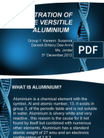 The Extration of the Versitile Aluminium