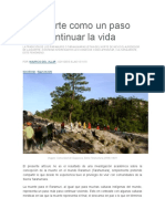 Villar, M. La Muerte Como Un Paso Para Continuar La Vida.