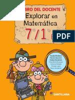 Explorar en Matematica 7-1