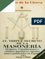 Ricardo de La Cierva El Triple Secreto de La Masoneria