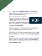 El Comercio en La Constitución Política de La República