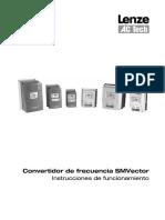 In Spanish Manual Lenze ESV552-4T