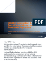 ISO/IEC Information & ICT Security and Governance Standards in practice
