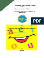 metodo fonetico fonico