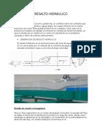 Resalto Hidraulico Para Presentar