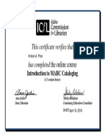 kprice-certificate-icfl intro to marc cataloging