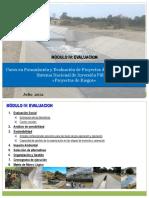 Evaluaci_Riegos de proyectos SNIP