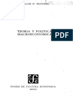 Branson (1972). Teoría y Política Macroeconomica (2)