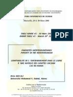 COMPTABILITE DE L 'ENVIRONNEMENT