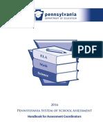 pssa handbook for assessment coordinators