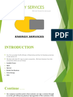 Energy Services-legal documention process