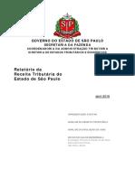 Relatório Receita Tributária Abril.2016 - Info ICMS