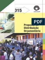 Proposta Distribuicao Orcamentaria 2015