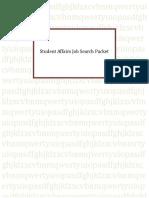 job search packet - eileen marin