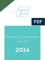 Relatório Anual FUNCAMP 2014 (Com Dados de 011-014)