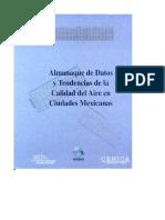 Almanaque de Datos y Tend Calidad Aire Ciudades Mexicanas