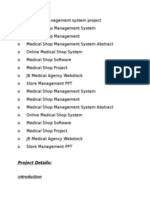 Clinic Management System project report docx docx | Integrated