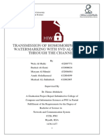 2016-2-nw-gp2-25-transmission of homomorphic image watermarking with svd algorithm through channel-finalreport