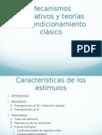 Mecanismos Asociativos y Teorías Del Condicionamiento Clásico.