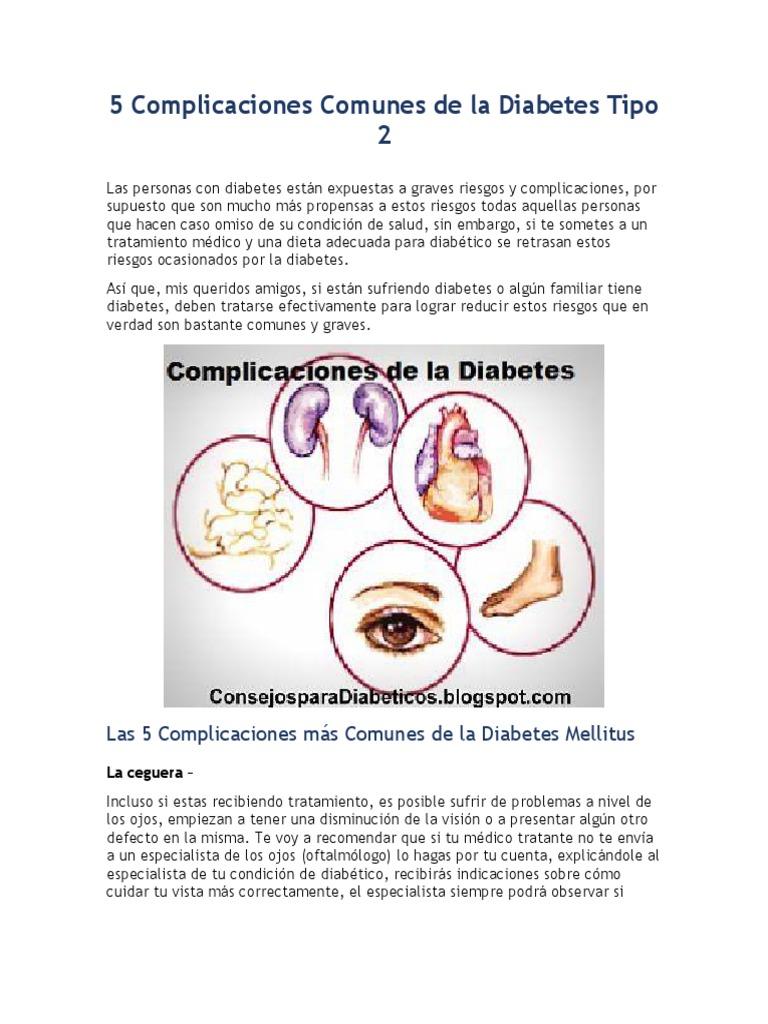 complicaciones de la diabetes insípida pdf