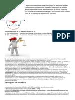 Presentamos un resumen de las recomendaciones éticas en las Guías ILCOR 2015