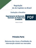 100521 Regulação de Mercado de Capitais No Brasil PUC Rio