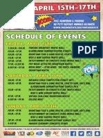 Vintage Days Schedule of Events_2016