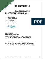 Operators Instruction Manual-nw4000