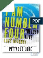 Pittacus Lore - LF14 Ultima Defensa