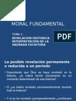 TEMA 3, Revelación Histórica en La SE
