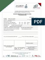 Pvi-p08-Pro-01-f04 Reporte de Avance Bimestral de Servicio Social