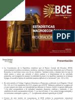 Est Macro 012015 banco central ecuador