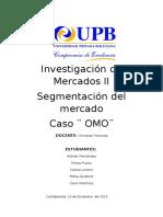 Investigación de Mercados Proyecto OMO