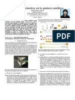 Espectrofotómetros en la química analítica