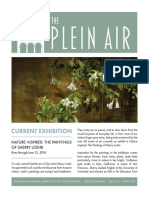 The Plein Air, Spring 2016 Issue