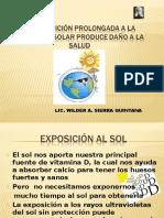 Efectos y Consecuencias de La Radiación Solar 2016
